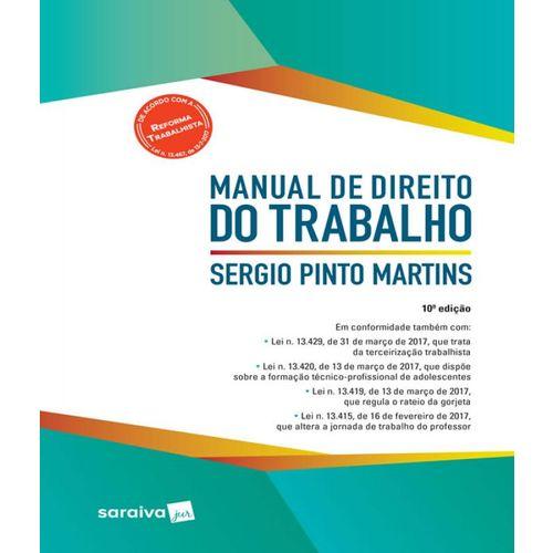 Manual de Direito do Trabalho - 11 Ed