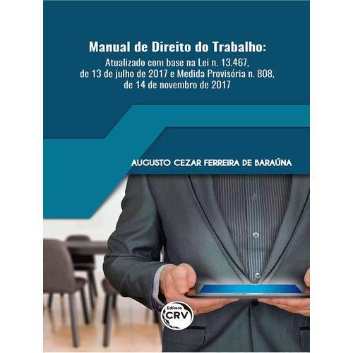 Manual de Direito do Trabalho