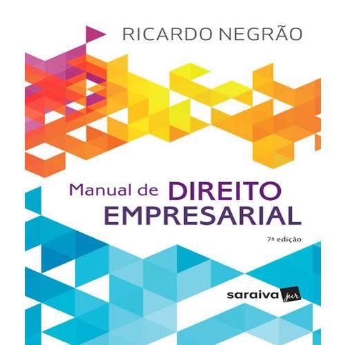 Manual de Direito Empresarial - 7 Ed