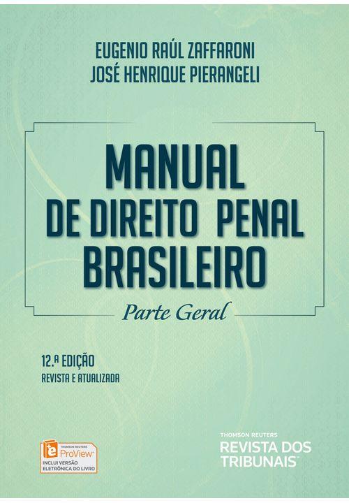 Manual de Direito Penal Brasileiro - 12ª Edição