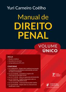 Manual de Direito Penal - Volume Único (2019)