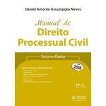 Manual de Direito Processual Civil (2018) - Volume Único