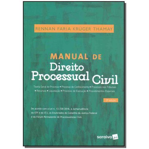 Manual de Direito Processual Civil - 02ed/19