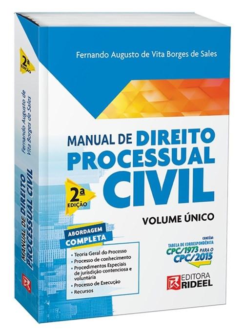 Manual de Direito Processual Civil 2º
