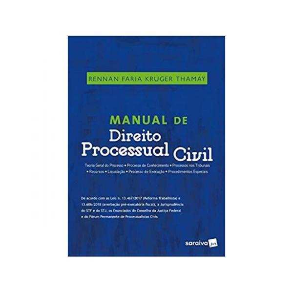 Manual de Direito Processual Civil 1ªed. - Saraiva