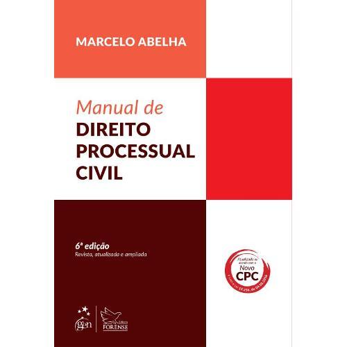Manual de Direito Processual Civil - 6ª Ed
