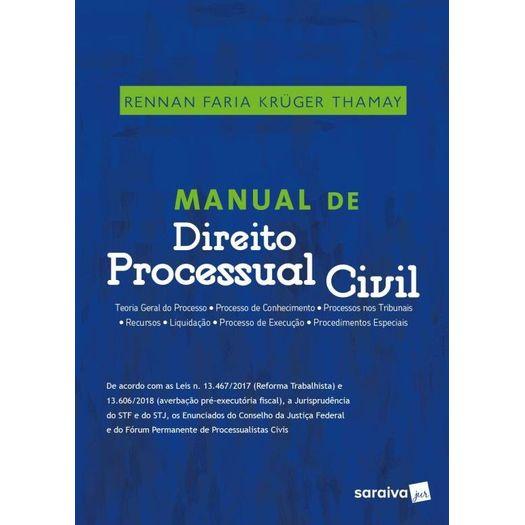 Manual de Direito Processual Civil - Saraiva - 1 Ed