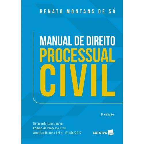 Manual de Direito Processual Civil - Saraiva