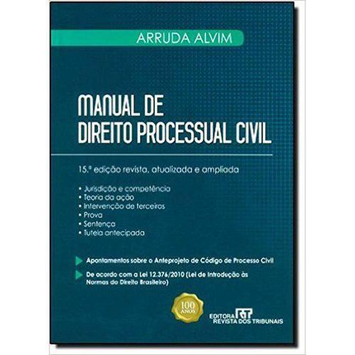Manual de Direito Processual Civil - Vol. 1 - 1ª Ed. 2012
