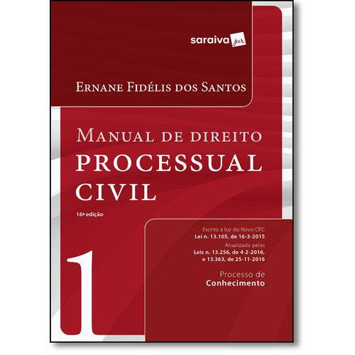 Manual de Direito Processual Civil - Vol.1