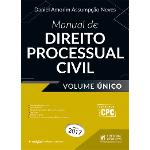 Manual de Direito Processual Civil - Volume Único (2017)