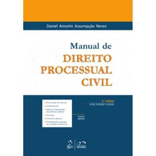 Manual de Direito Processual Civil - Volume Único - 2ª Ed. 2010