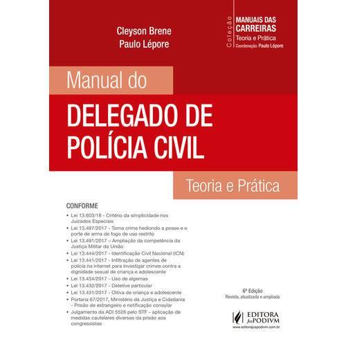 Manual do Delegado de Policia Civil - Juspodivm