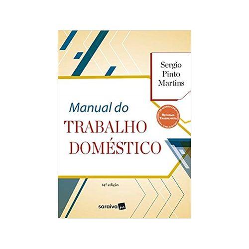 Manual do Trabalho Doméstico 14ªed. - Saraiva