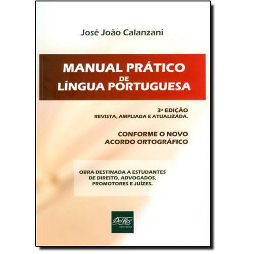 Tudo sobre 'Manual Prático de Língua Portuguesa'