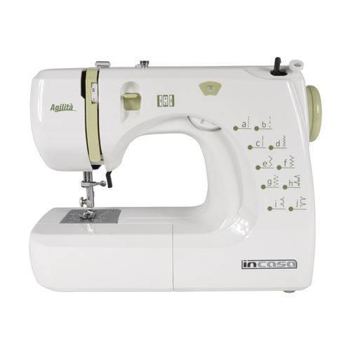 Tudo sobre 'Máquina de Costura Incasa Agilita - Branco/verde'