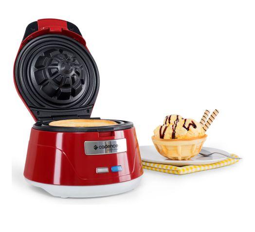 Máquina de Waffle Bowl Cestinha Cadence - 127V