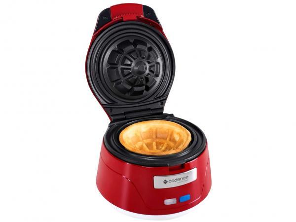 Máquina de Waffle Cadence Waffle Bowl - 750W