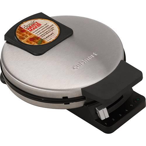 Tudo sobre 'Maquina de Waffle WMR-C Inox 110V - Cuisinart'