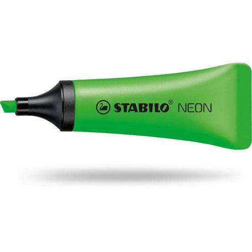 Tudo sobre 'Marca Texto Verde Neon Stabilo'