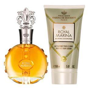 Tudo sobre 'Marina de Bourbon Royal Diamond Kit - Eau de Parfum + Loção Corporal Kit'