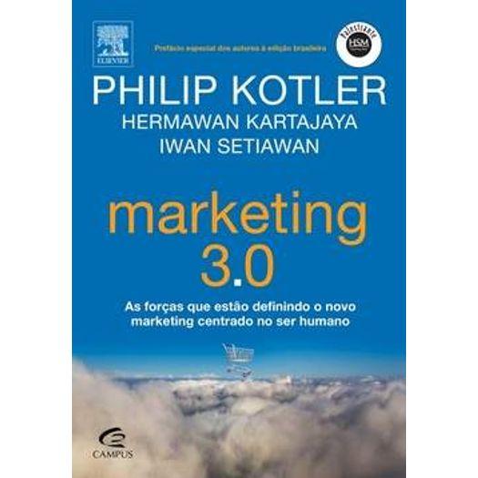 Tudo sobre 'Marketing 3 0 - Campus'