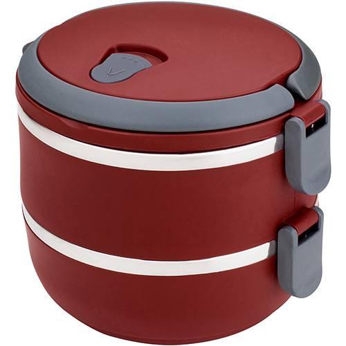 Tudo sobre 'Marmita Lunch Box Vermelho - Euro Home'