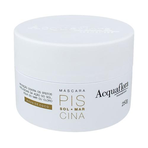 Máscara Capilar Acquaflora Sol-Mar-Piscina com 250g