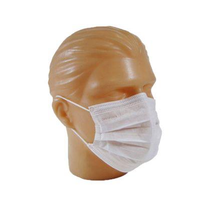 Máscara Cirúrgica Descarpack Tripla Descartável com Elástico com 50un.