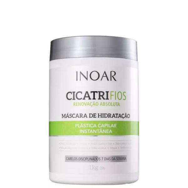 Máscara de Hidratação Inoar Cicatrifios - 1kg