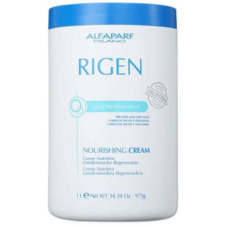 Máscara de Tratamento Alfaparf Rigen Milk Protein Plus Nourishing Cream - 1Kg