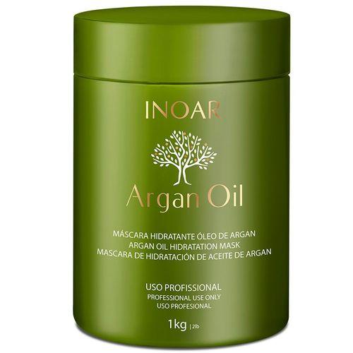 Máscara de Tratamento Intensivo Argan Oil Inoar 1kg