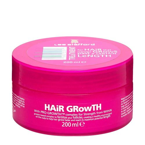 Tudo sobre 'Máscara de Tratamento Lee Stafford Hair Growth 200ml'