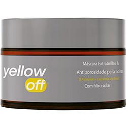 Máscara Extra Brilho e Antiporosidade para Loiras Yenzah Yellow Off 300g