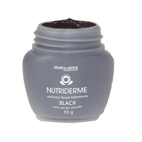 Tudo sobre 'Máscara Facial Hidratante Black com Carvão Ativado Nutriderme Abelha Rainha 55g'