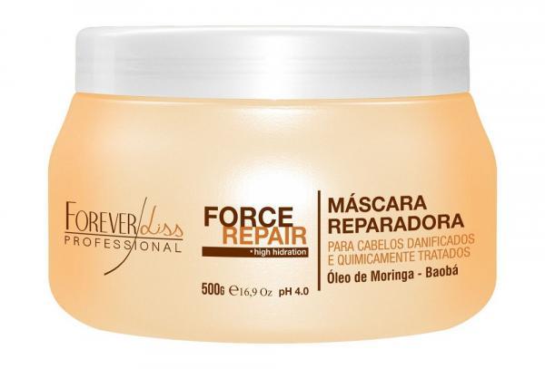Máscara Force Repair Forever Liss 500g