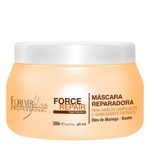 Máscara Force Repair Forever Liss 500gr