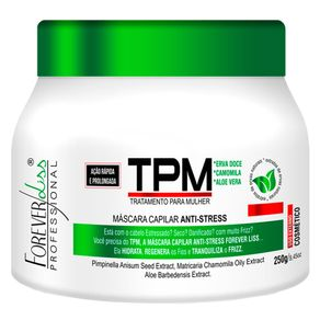Máscara Forever Liss Professional TPM Anti Stress 250g