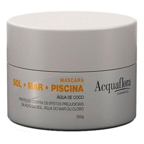 Máscara Hidratação Acquaflora Sol Mar Piscina 250g
