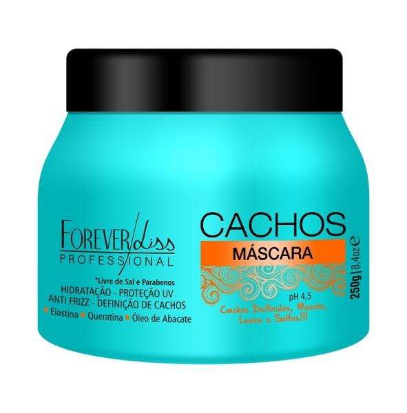 Máscara Hidratante Forever Liss Cachos 250gr