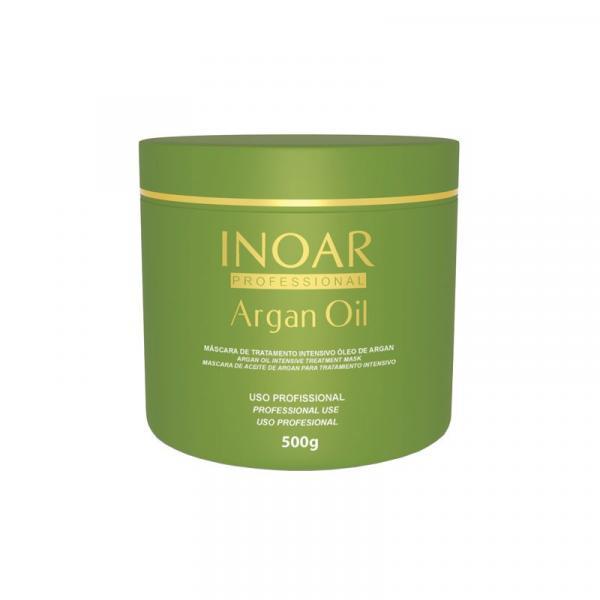 Mascara Inoar Argan Oil Tratamento Intensivo 500 Gr
