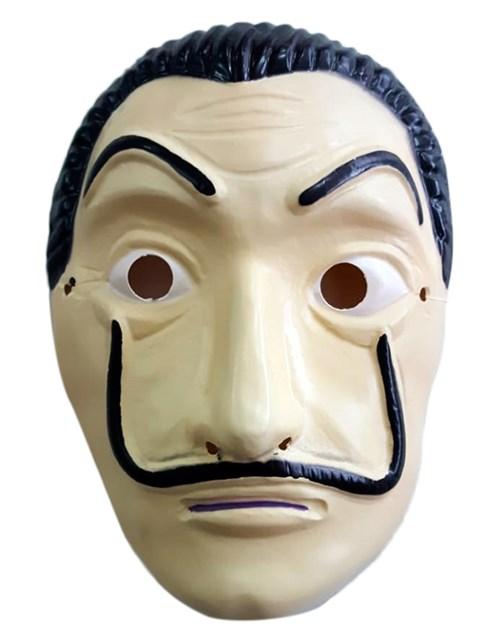 Máscara La Casa de Papel de Plástico