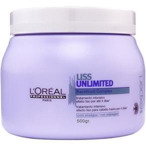Máscara Loréal Liss Unlimited - 500 G