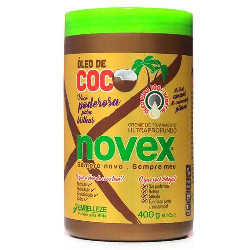 Mascara Novex Oleo de Coco 1KG
