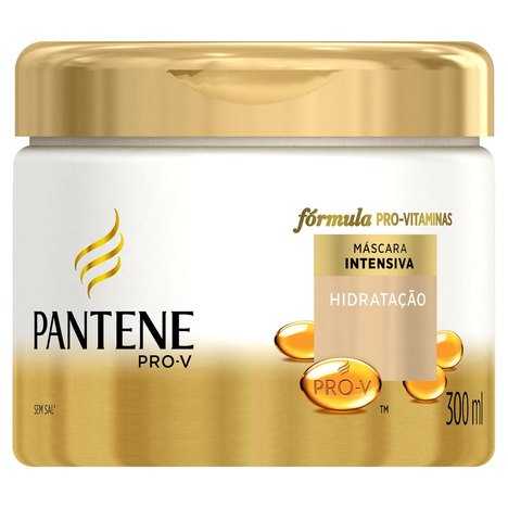 Máscara Pantene Fortalecedora Hidratação Intensa- 300 Ml
