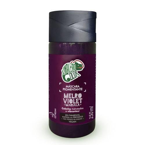 Tudo sobre 'Máscara Pigmentante Kamaleão Color - Melro Violet 150ml -Tonalizante Marsala'