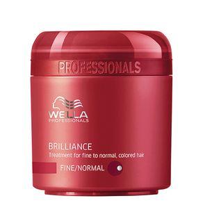 Máscara Wella Professionals Brilliance Fine To Normal Hair 150ml