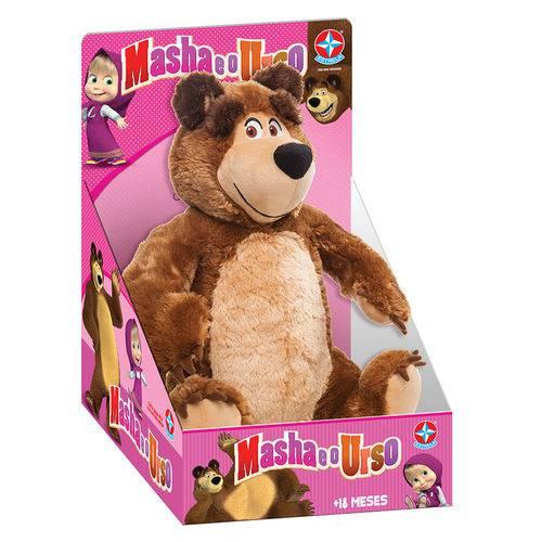 Masha e o Urso Pelúcia Urso - Estrela