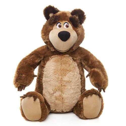 Masha e o Urso Pelúcia Urso Estrela