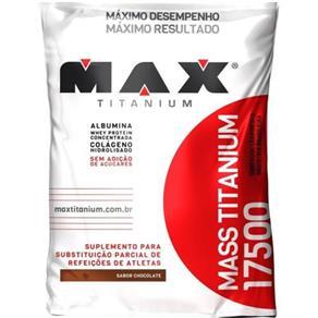 Mass 17500 - Max Titanium - Baunilha - 3 Kg